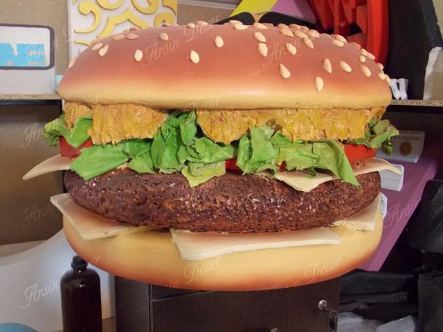 ماکت همبرگر