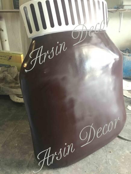 ماکت شیشه شکلات