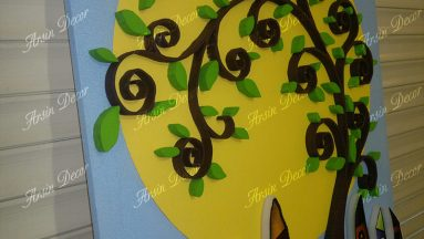 ماکت تبلیغاتی درخت دکوراتیو