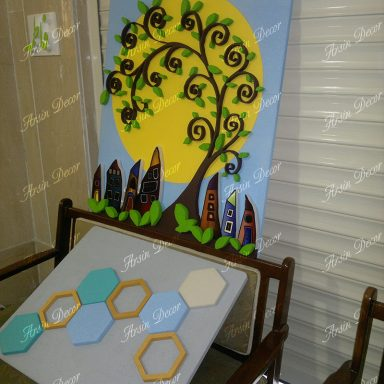 ماکت  درخت دکوراتیو