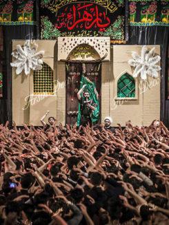 دکور هیئت شهادت حضرت زهرا(س)