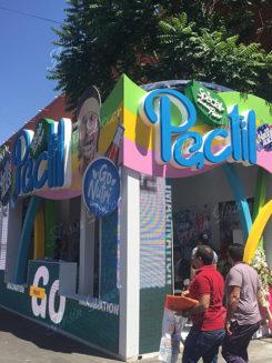 دکور غرفه نمایشگاهی پاستیل