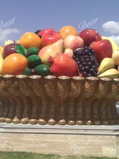 سبد میوه و گل