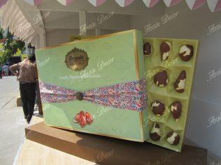 ماکت تبلیغاتی جعبه شکلات