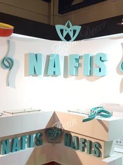 دکوراسیون غرفه نمایشگاهی نفیس