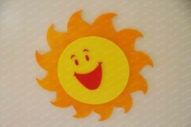 دکور مهدکودک,ماکت خورشید