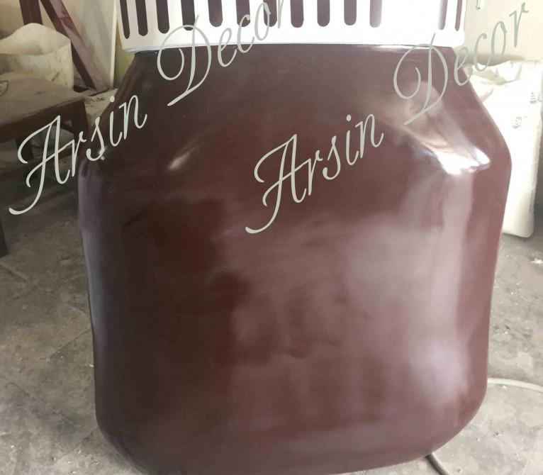 ماکت فایبرگلاس شیشه شکلات