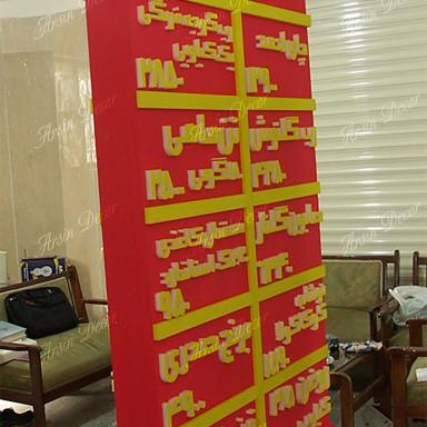 تابلو تبلیغاتی دکوراتیو