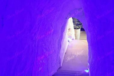 ماکت تبلیغاتی غار یخی