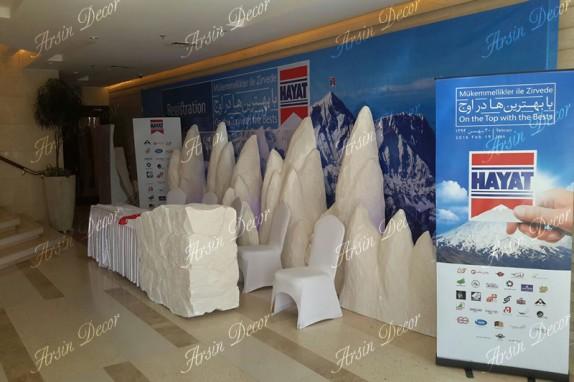 ماکت تبلیغاتی کوه یخی