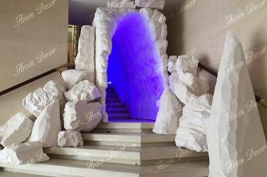 ماکت غار یخی
