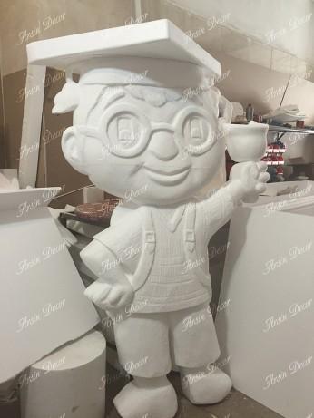 ساخت ماکت تبلیغاتی پسر