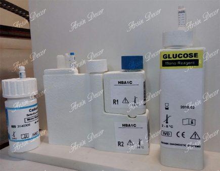 ماکت تبلیغاتی لوازم آزمایشگاهی