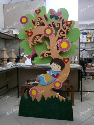 ماکت درخت کودکانه