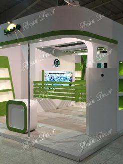 دکور غرفه های نمایشگاه قطعات خودرو اصفهان