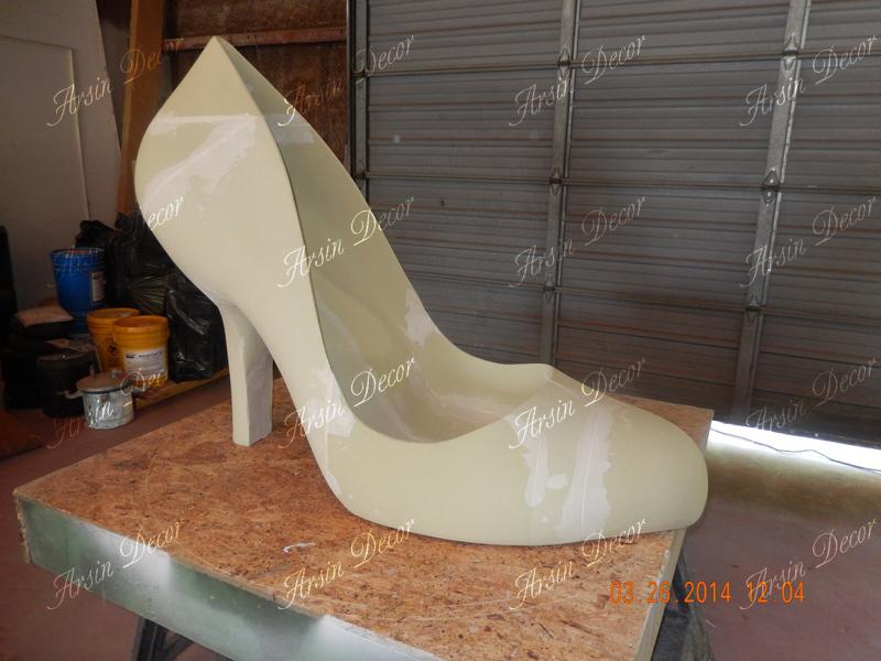 ماکت تبلیغاتی کفش زنانه