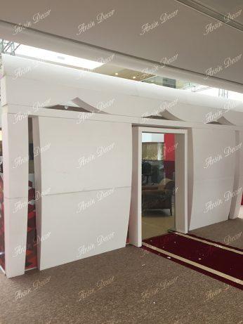 دکوراسیون غرفه بانک شهر نمایشگاه کتاب