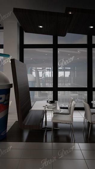 طراحی و اجرای دکوراسیون رستوران