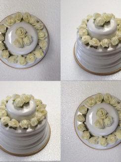 ماکت و قالب کیک
