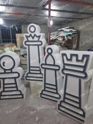 ماکت دو بعدی مهره شطرنج