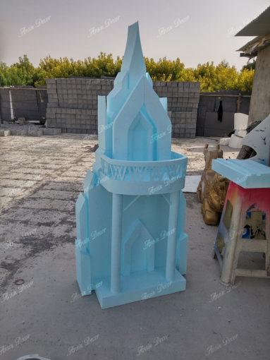 ماکت قلعه فروزن