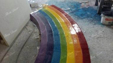 تزیین دیوار مهد کودک