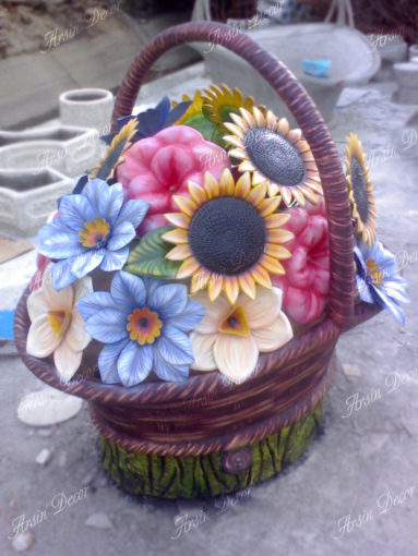 ماکت سبد گل