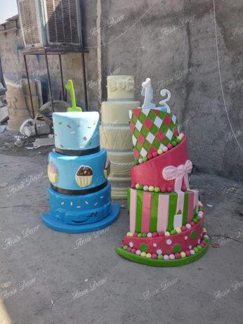 ماکت تبلیغاتی کیک تولد و عروسی