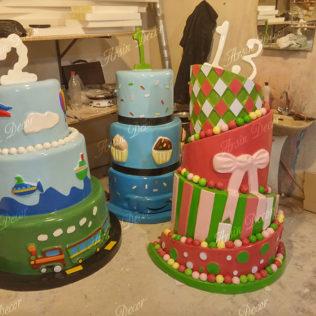 ماکت کیک تولد و عروسی