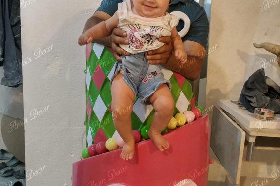 ماکت تبلیغاتی کیک تولد