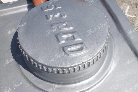 ماکت قوطی روغن موتور بهران