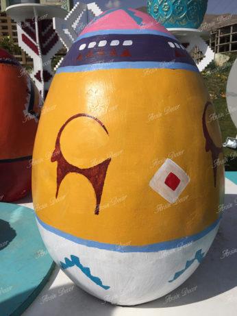 ماکت تخم مرغ رنگی