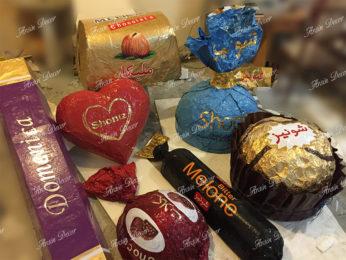 ماکت صنعتی شکلات