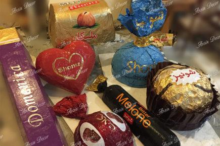 ماکت شکلات شونیز
