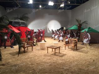ساخت دکور برنامه تلویزیونی سید احرار