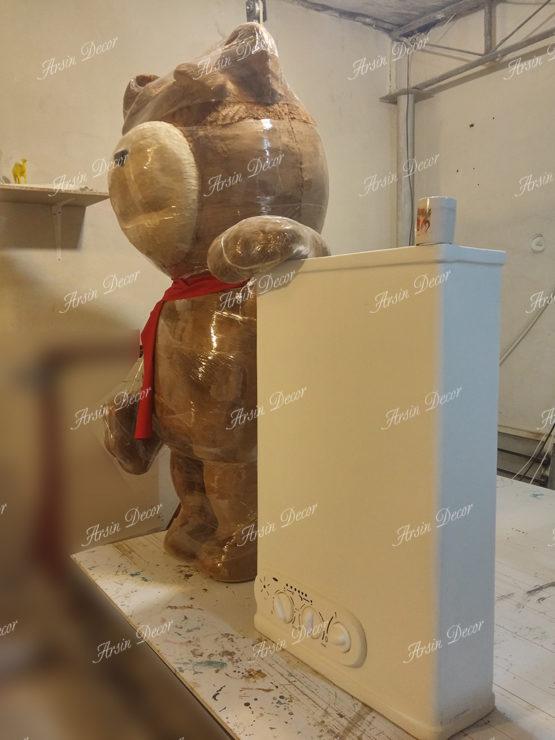 ماکت خرس ایران رادیاتور