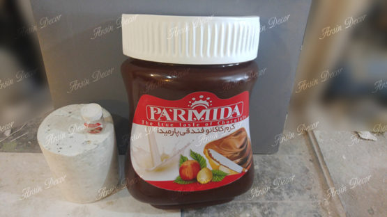 ماکت تبلیغاتی شیشه شکلات پارمیدا