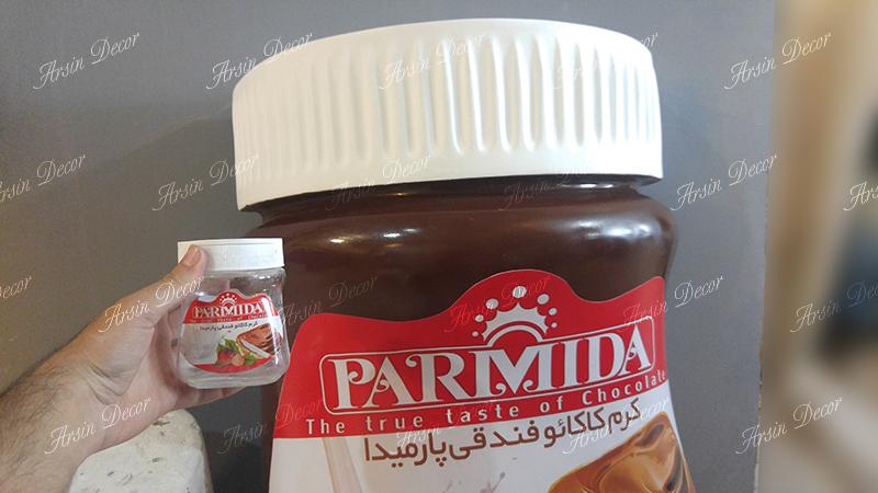 ماکت تبلیغاتی شکلات پارمیدا