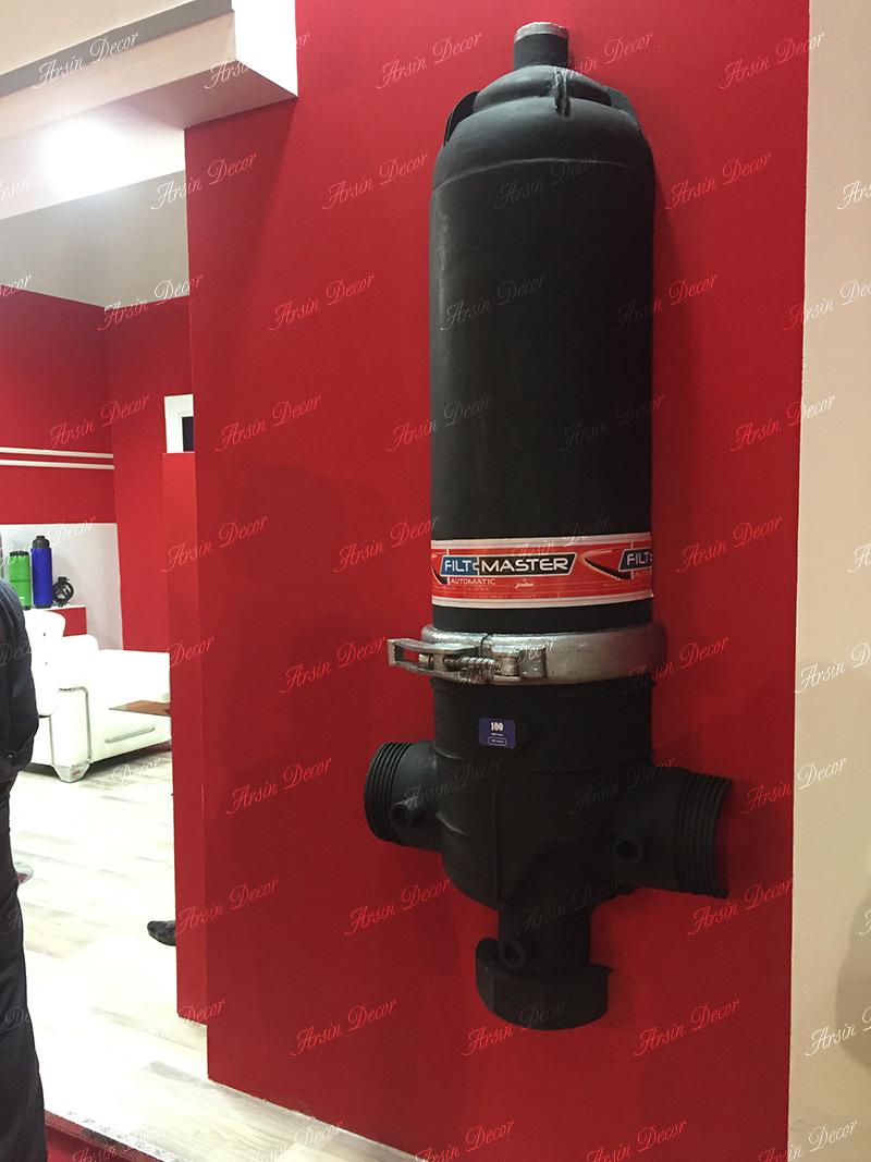 ماکت تبلیغاتی فیلتر صنعتی آب
