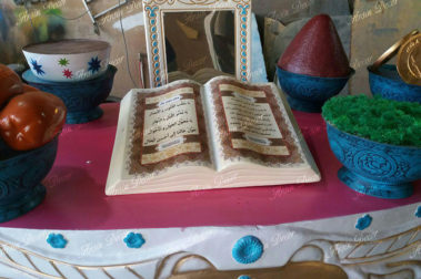 ماکت سفره هفت سین 1396