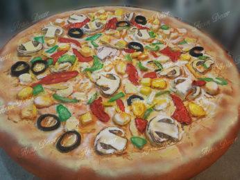 ماکت های تبلیغاتی پیتزا ریواس