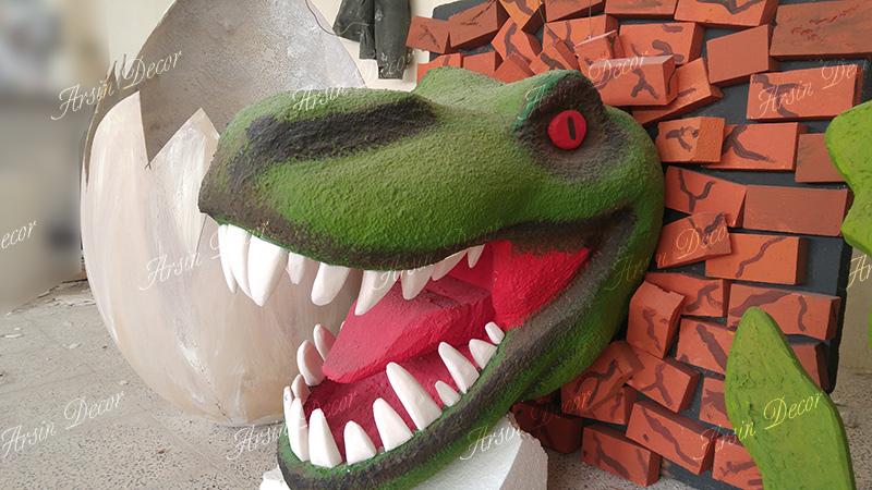 ماکت دایناسور تیرانوزاروس