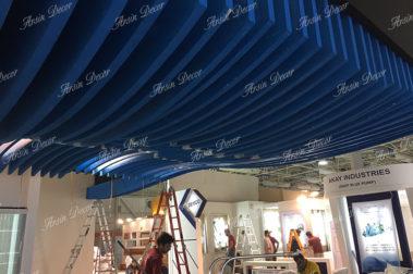 سقف دکوراتیو چوبی