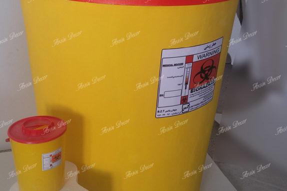 ماکت تبلیغاتی سطل پزشکی